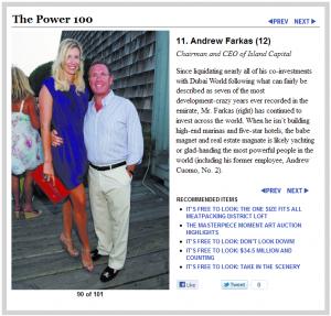 Andrew Farkas Observer Power 100